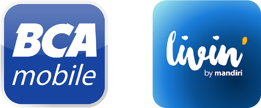 Bayar dengan QR via BCA Mobile logo