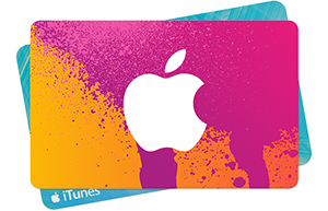 iTunes Gift Card IDR